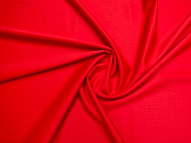Wełna super 150s z lycrą czerwień hiszpańska