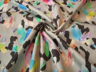 Bawełna z lycrą bajeczny tęczowy print