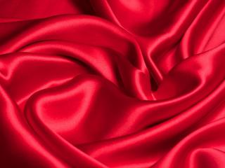 Satyna jedwabna czerwień makowa