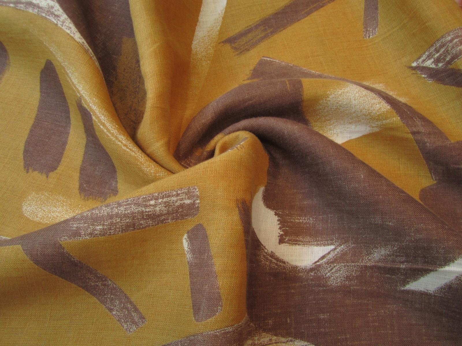Len malowany czekolada kurkuma miód