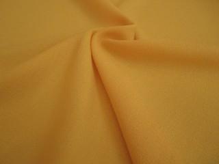 Wełna sukienkowa crepella premium słoneczny żółty
