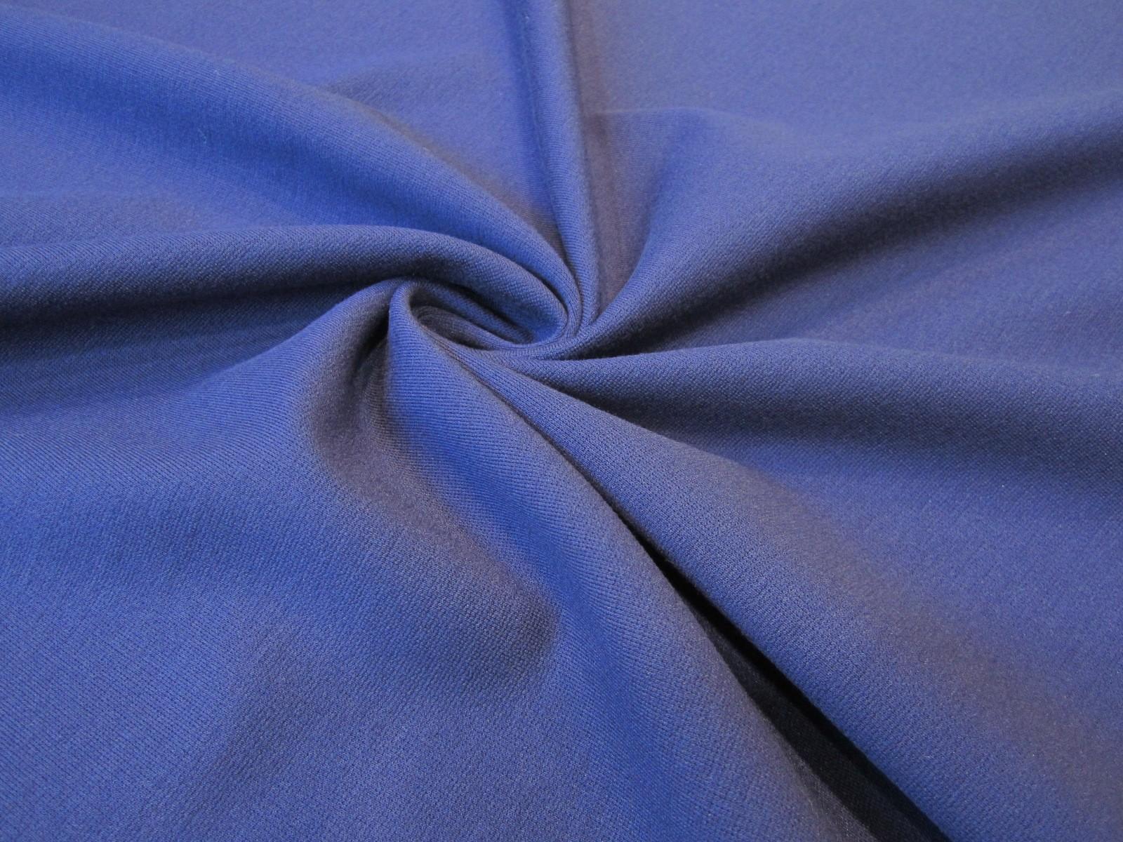Dzianina Portobello premium niebieski granat