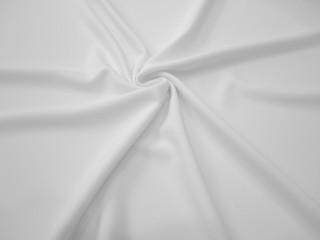 Krepa z elastanem Rosario biel optyczna