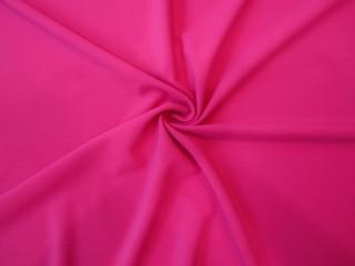 Krepa z elastanem Rosario róż fluo