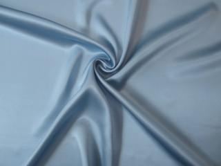 Jedwab satyna jasny pastelowy zimny błękit