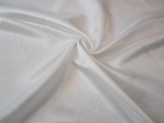 Podszewka wiskozowa żakard biel optyczna