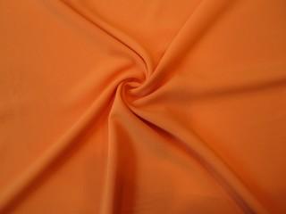 Krepa z elastanem Rosario nasycony oranż