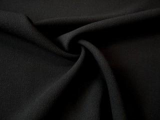 Wełna luksusowa crepa doppio premium czarna
