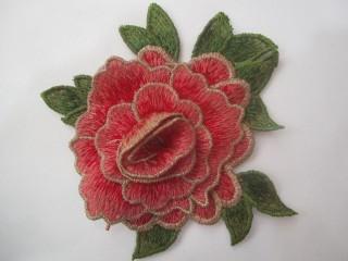 Róża premium warstwowa odcienie różu angielskiego