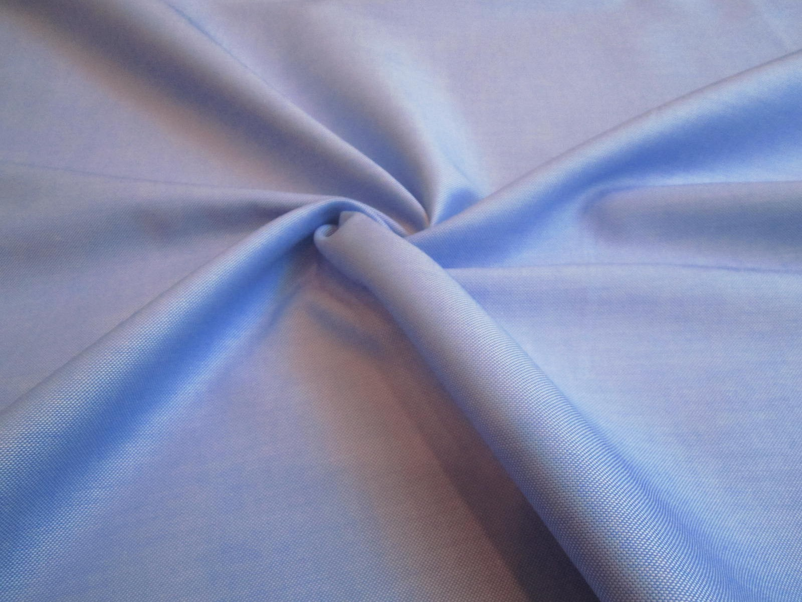 Bawełna koszulowa błękitna oxford premium