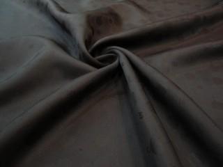 Podszewka firmowa żakard głęboka czerń