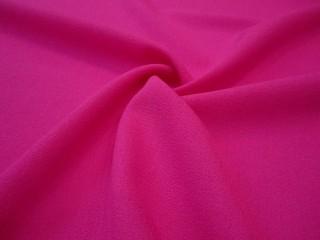 Wełna sukienkowa crepella premium róż cukierkowy