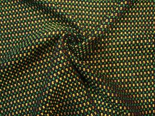 Luksusowa chanelka szmaragd granat złoto KUPON