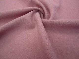 Wełna sukienkowa premium crepella róż pudrowy