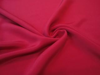 Jedwab gruby cadie gładki czerwień makowa
