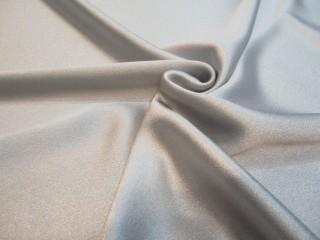 Krepa Cady Alta Moda z elastanem popiel srebro jasne