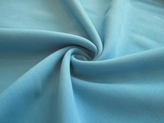 Wełna premium doppio crepe sable niebieski błękit