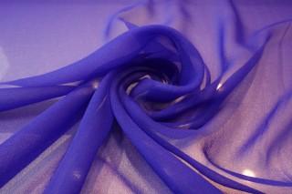 Jedwab szyfon intensywny kobalt