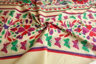 Bawełna premium sygnowana kolorowy print KUPON