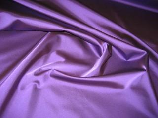 Satyna wiskozowa z lycrą fioletowa
